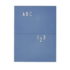 DL message board A4 blauw