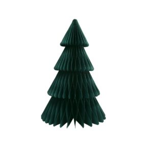 &k christmas tree paper L green