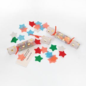 Meri confetti star mini crackers