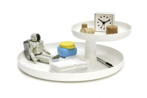 VR rotary tray wit