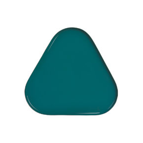 &k tray triangle green