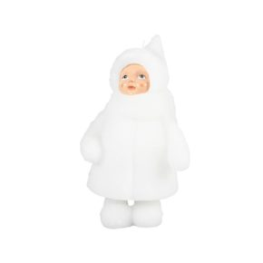 &k candle snowdoll open eyes