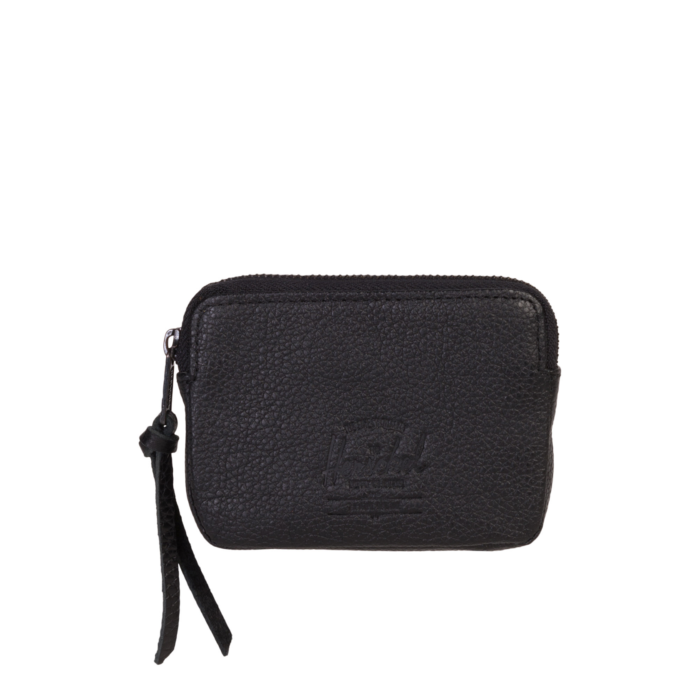 HS Oxford Pouch Black Pebbled Leather