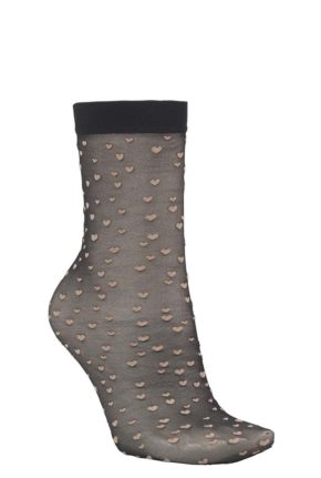 becksondergaard-socks-heart-black-&k-klevering