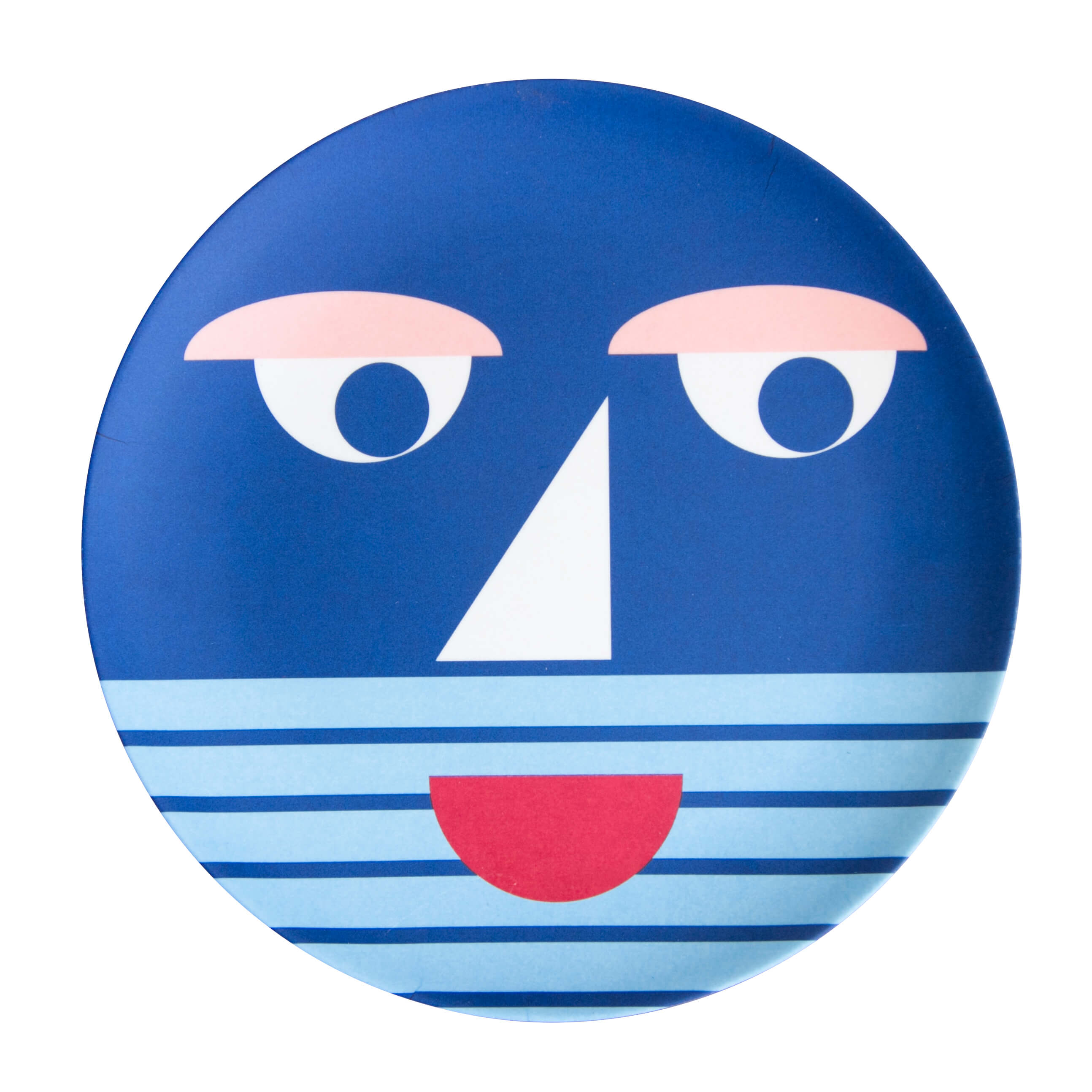 global-affairs-bamboo-plate-face-blue-&k-klevering